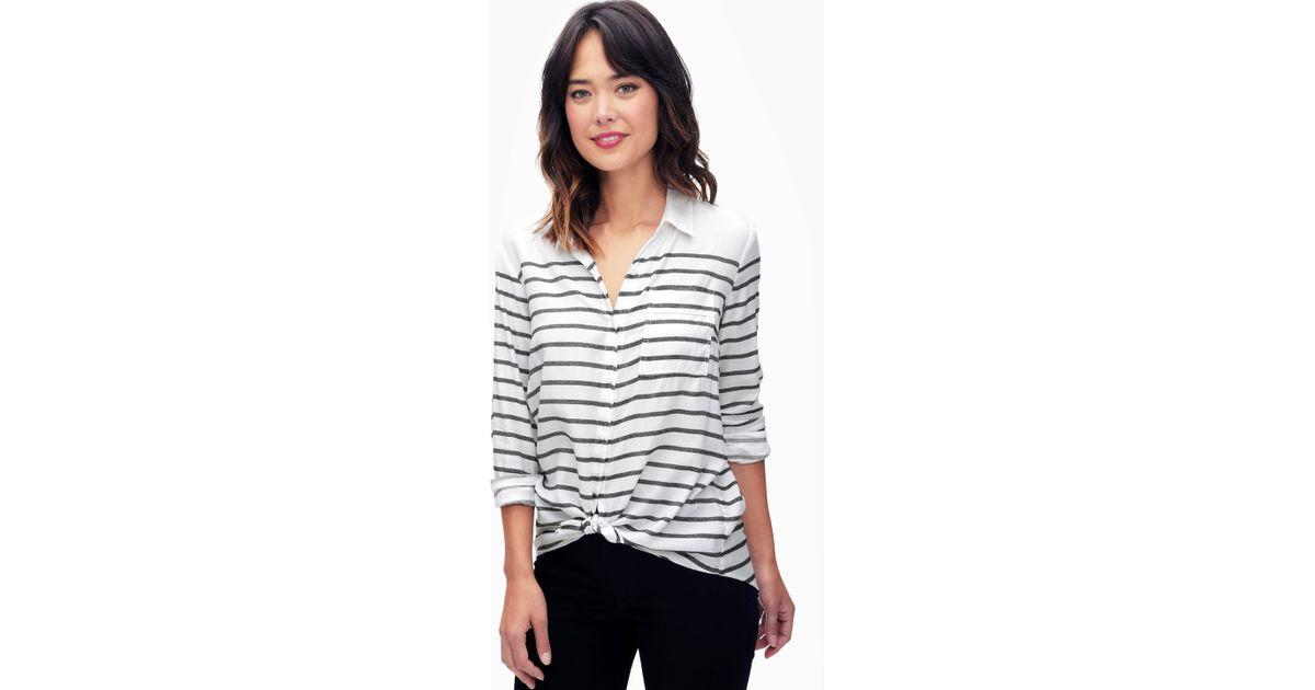 Breton Stripe Shirt Womens