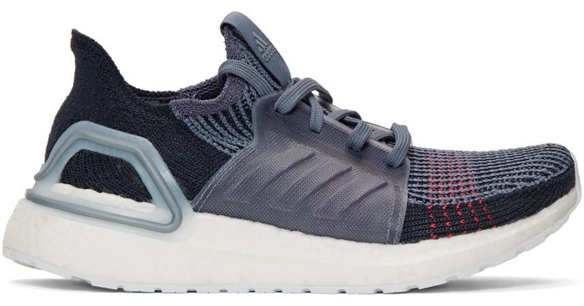 adidas Originals Navy Ultraboost 19w Sneakers in Black - Lyst 5c8c8aded5f