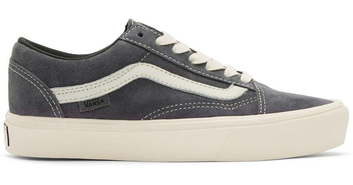 Lyst - Vans Grey Old Skool Lite Lx Sneakers in Gray for Men cb147d410a