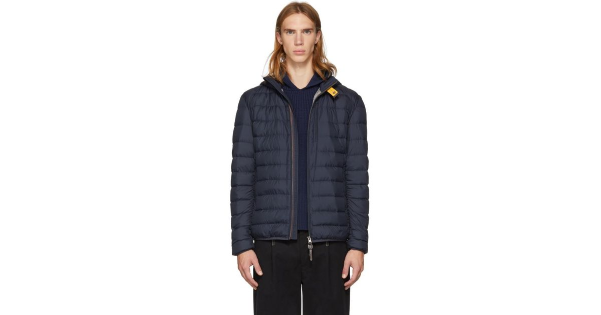 Lyst - Parajumpers Navy Super Lightweight Last Minute Jacket in Blue for Men