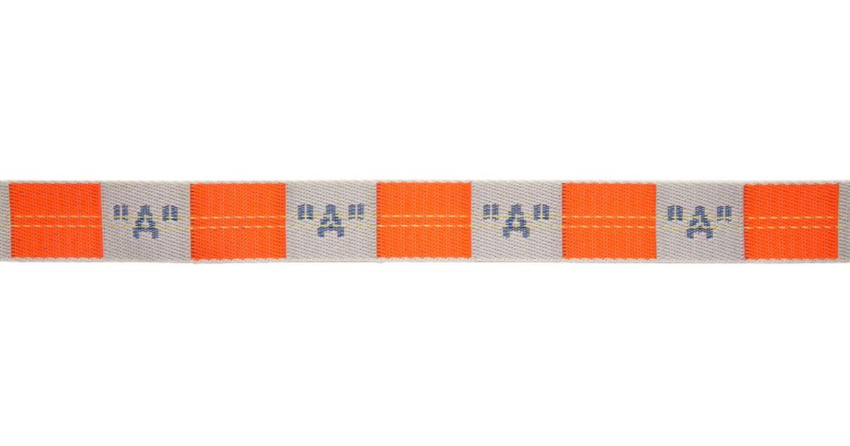 Lyst - Ceinture orange et grise A Industrial Off-White c o Virgil Abloh en  coloris Orange 45bd1d9dc6d