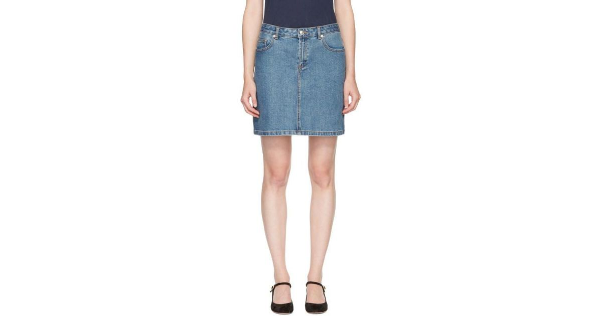 c p A Minifalda añil estándar lavada vaquera 40nwqxBY8f