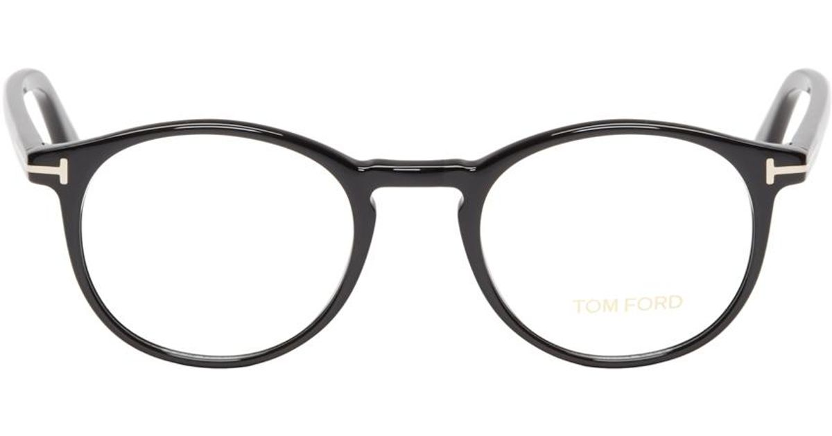 df37211d5d Lyst - Tom Ford Black Acetate Tf5294 Optical Glasses in Black for Men