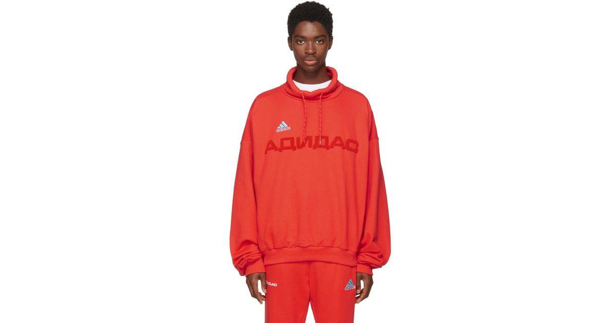 Lyst Adidas Lyst Gosha Rubchinskiy Red Adidas Originals Originals Edición Funnel Neck e37a23d - rspr.host