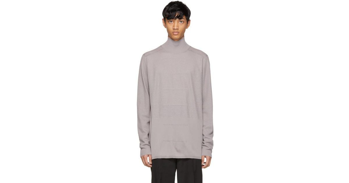 Largest Supplier Online White Merino Geo Sweater Rick Owens Buy Cheap Enjoy Clearance Latest With Mastercard Cheap Price Brand New Unisex Cheap Price AilNY6iSc