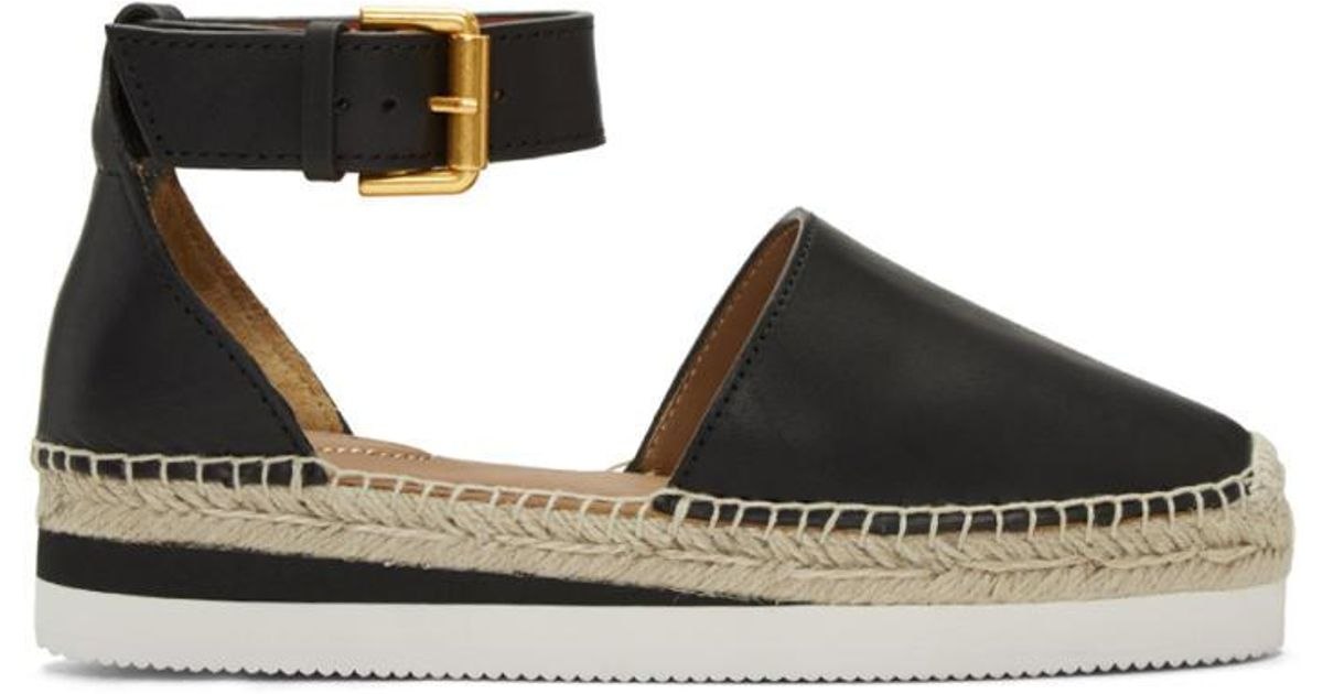 2171033c2558c See By Chloé Black Glyn Espadrilles in Black - Lyst