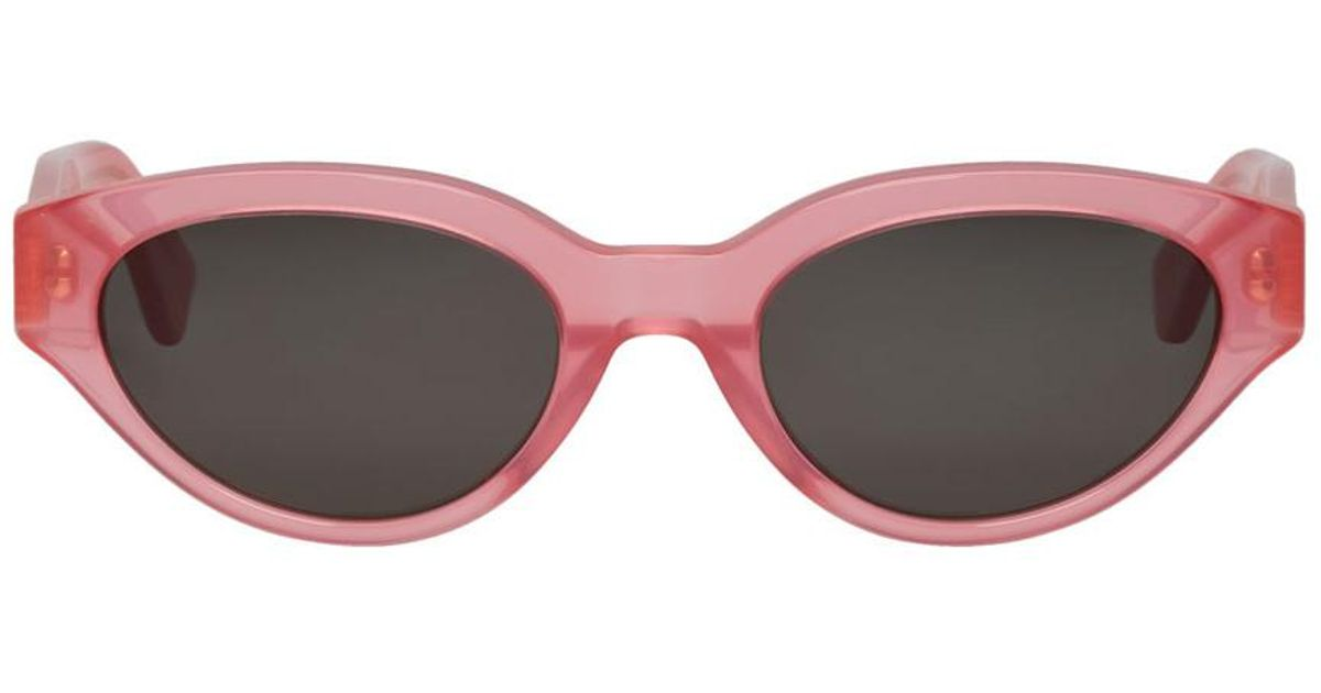 Pink and Black CR39 Drew Sunglasses Super