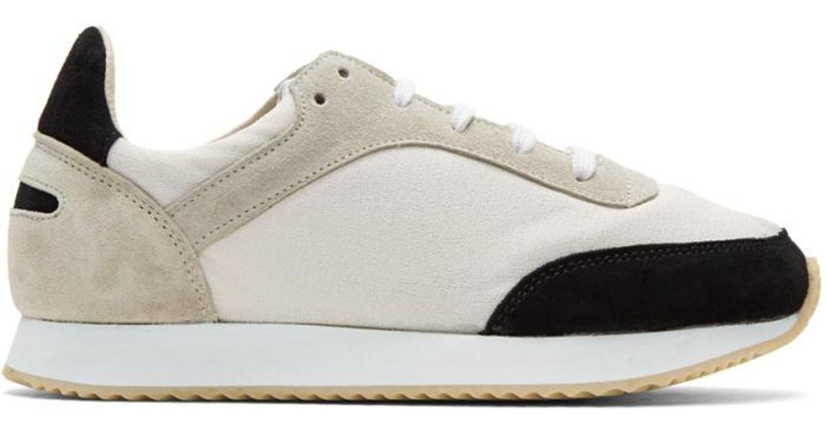 Black and White Tempo Sneakers Spalwart A6lz5