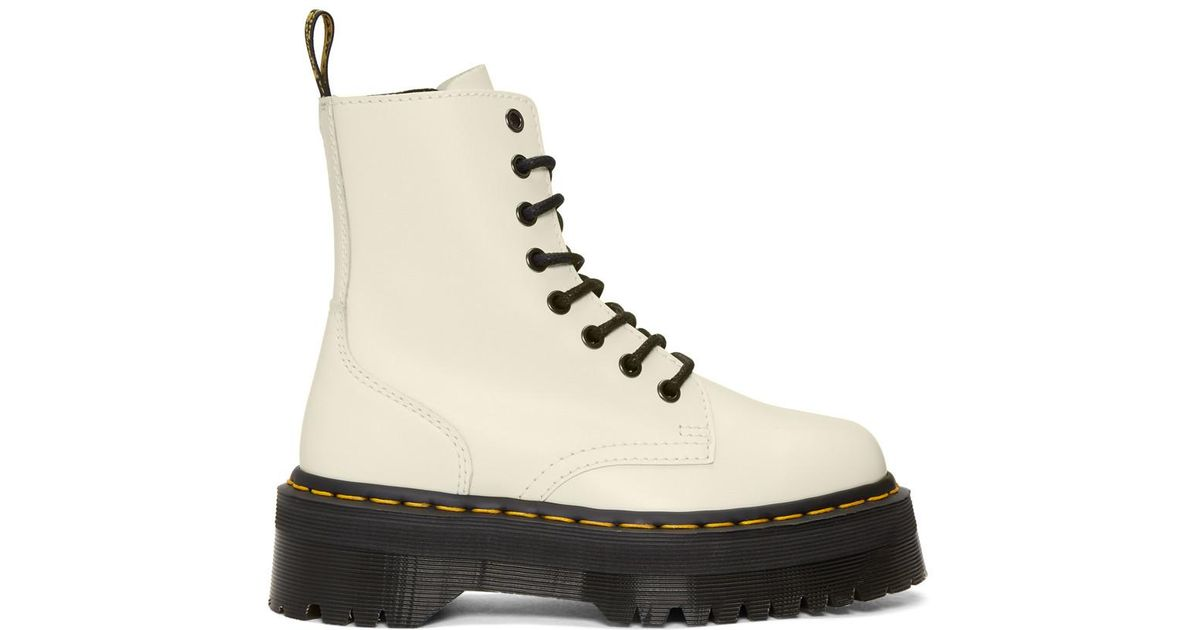 sale cheap prices Dr. Martens White Jadon Boots clearance hot sale free shipping wide range of largest supplier cheap price 0gTYc8x