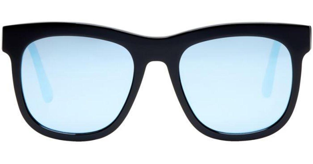b973dcad3fd Lyst - Gentle Monster Black   Blue Pulp Fiction Sunglasses in Black for Men