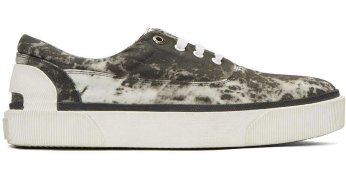 Vans Grey Vulcanized Tie Dye Sneakers d0dUFl