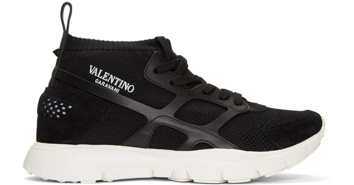Valentino Garavani Sound High sneakers - Black Valentino nLlkXgwr