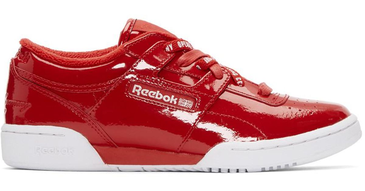 sale big sale clearance classic Reebok Classics Red Converse Edition Grid Logo Sneakers with credit card 2IfPzqpW