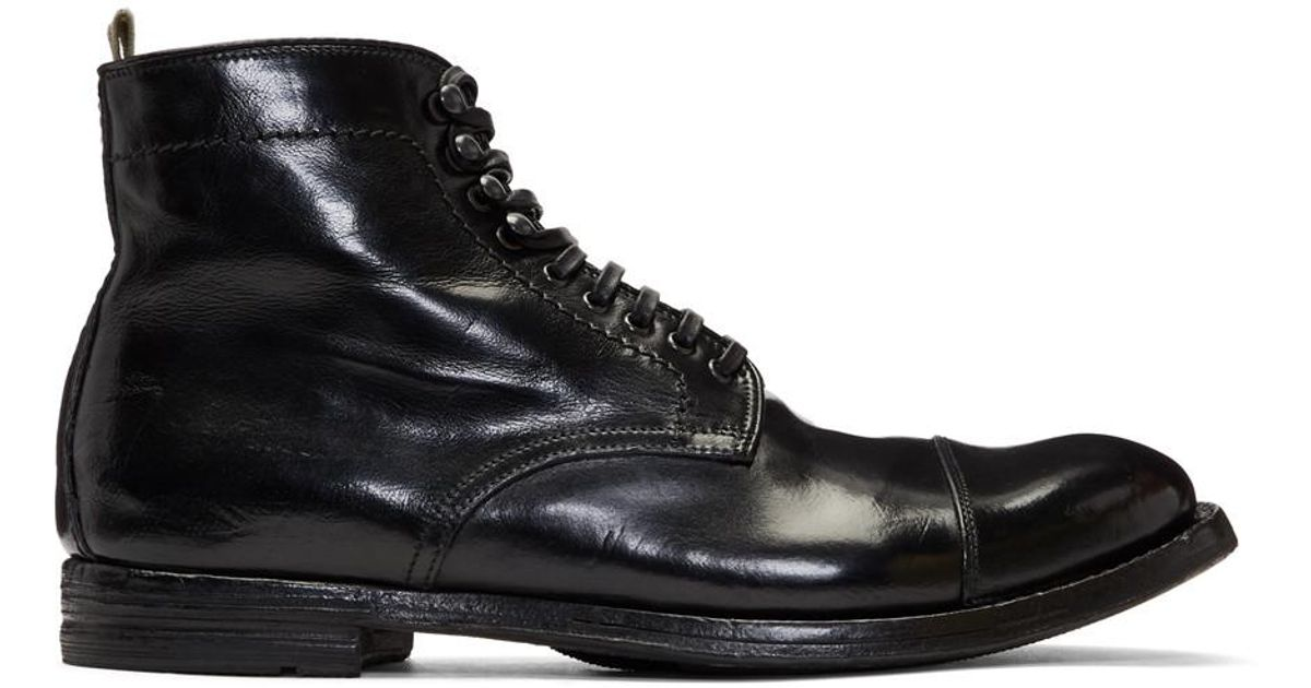 Officine creative Black Felix 5 Boots