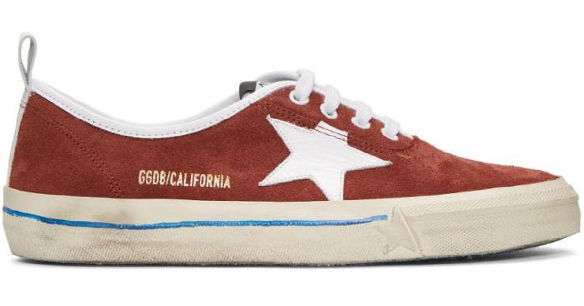 Golden GooseSuede California Sneakers l7BrD6Ilv