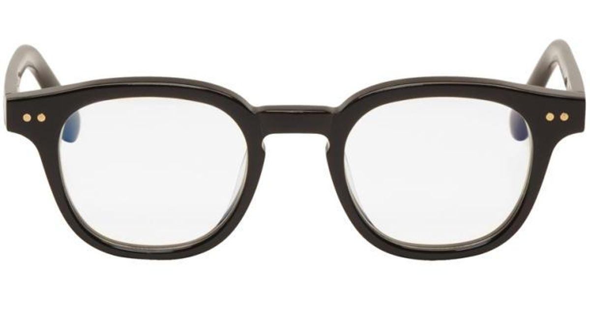 4e0e5d44bb3 Lyst - Gentle Monster Black Bowie Glasses in Black