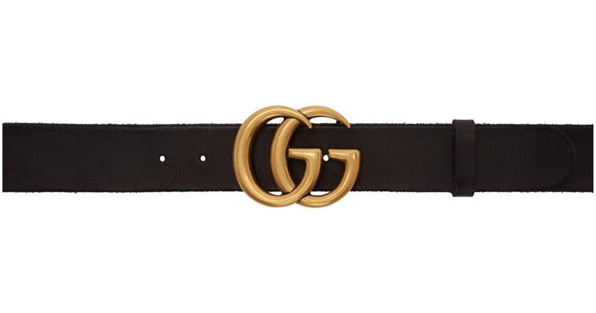 Brown Thin GG Toscano Belt Gucci nr8bns