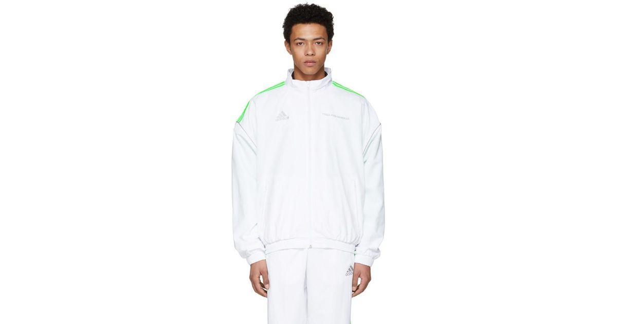 a124ec25 Gosha Rubchinskiy White Adidas Originals Edition Track Jacket in White for  Men - Lyst