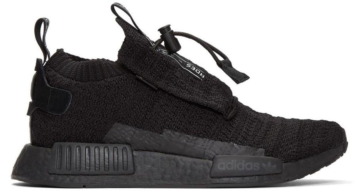 b14a24341d61c Lyst - adidas Originals Black Nmd-ts1 Pk Gore-tex® Sneakers in Black for Men