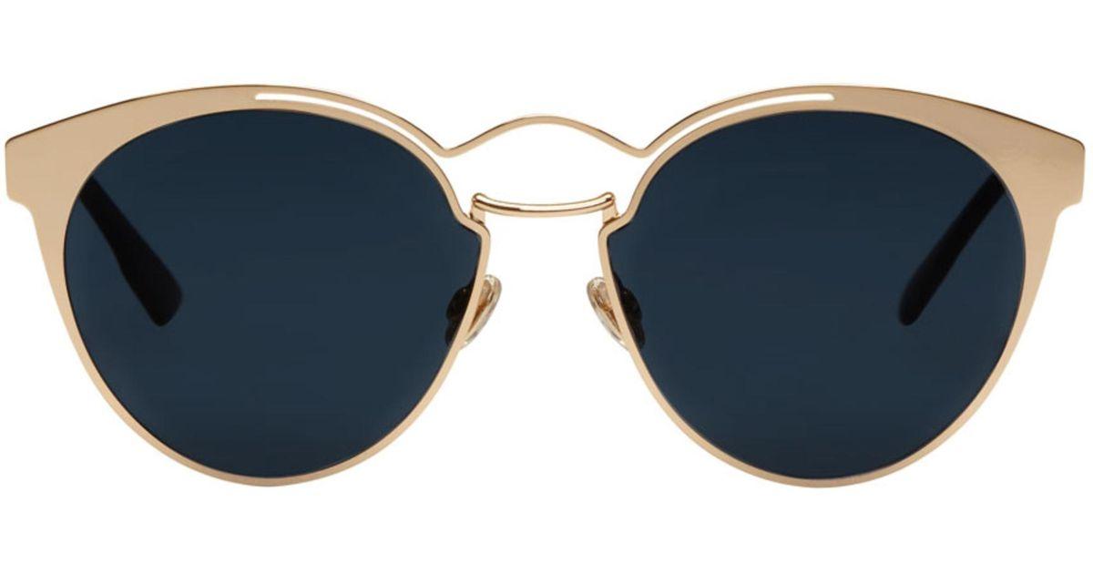 3ab1e2d71922 Dior Rose Gold Nebula Sunglasses in Pink - Lyst