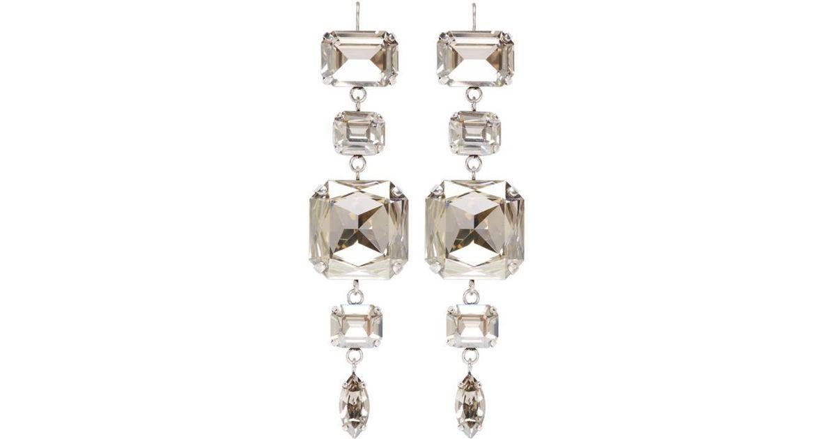 Silver 90 Degree Earrings Isabel Marant Y4E5iae