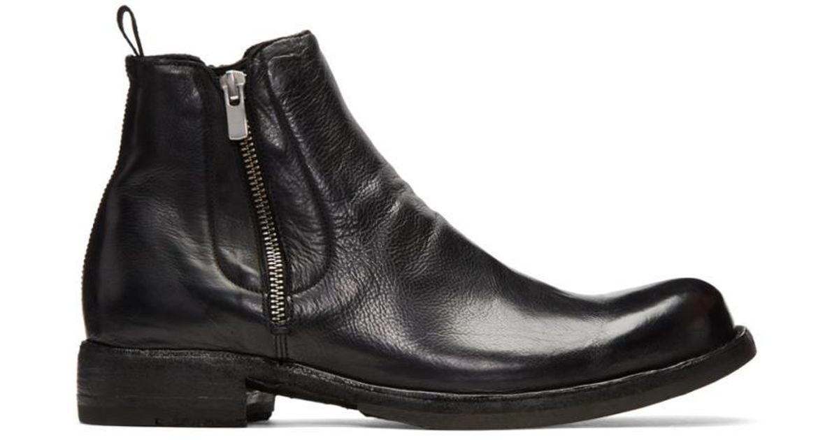 Officine Creative Black Ikon 39 Boots 63LMJlSU