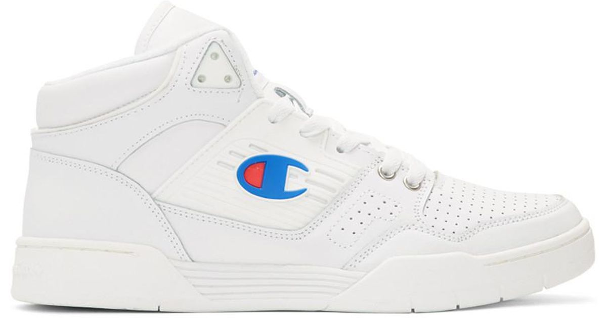 14288b287d3 Lyst - Champion White 3 On 3 Sp High-top Sneakers in White for Men - Save  20%