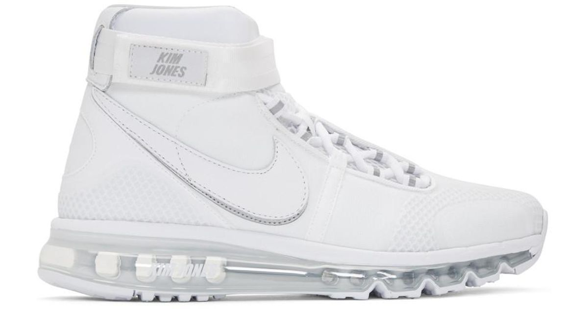 Niesamowite Nike White Kim Jones Edition Air Max 360 High-top Sneakers in AK81