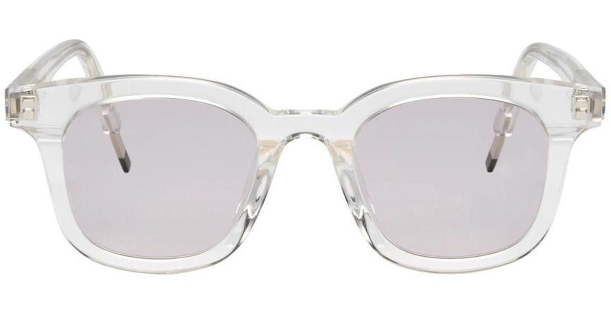 087d62484b11 Lyst - Gentle Monster Transparent Dal Lake Sunglasses for Men