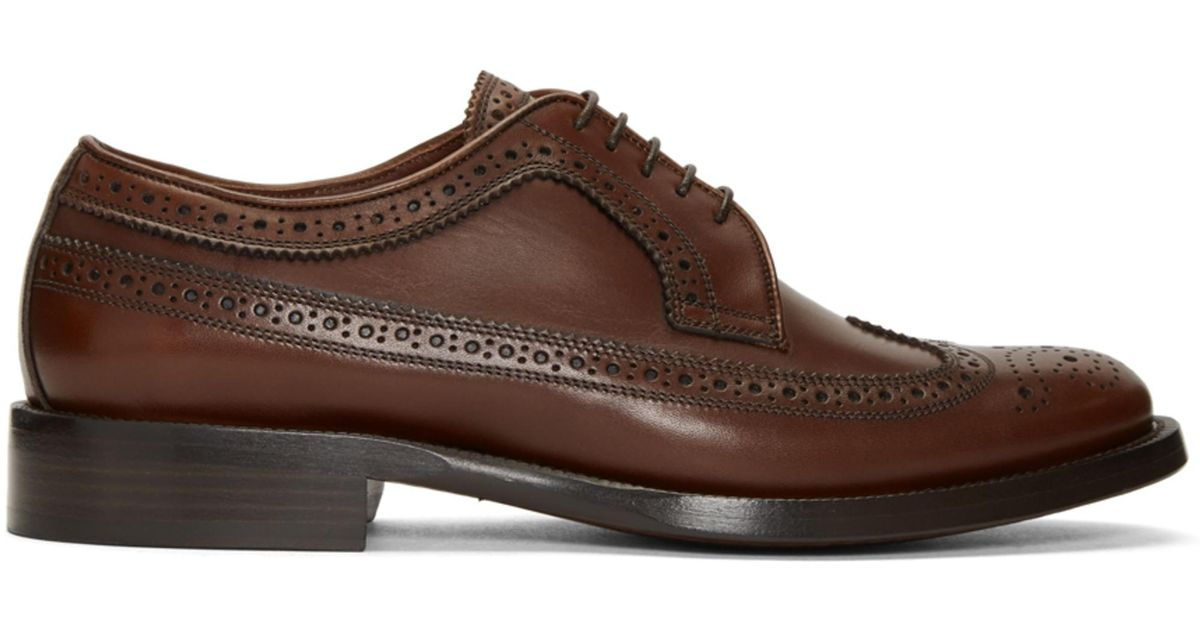 Brown Aleighton Brogues Burberry UdkVXbt