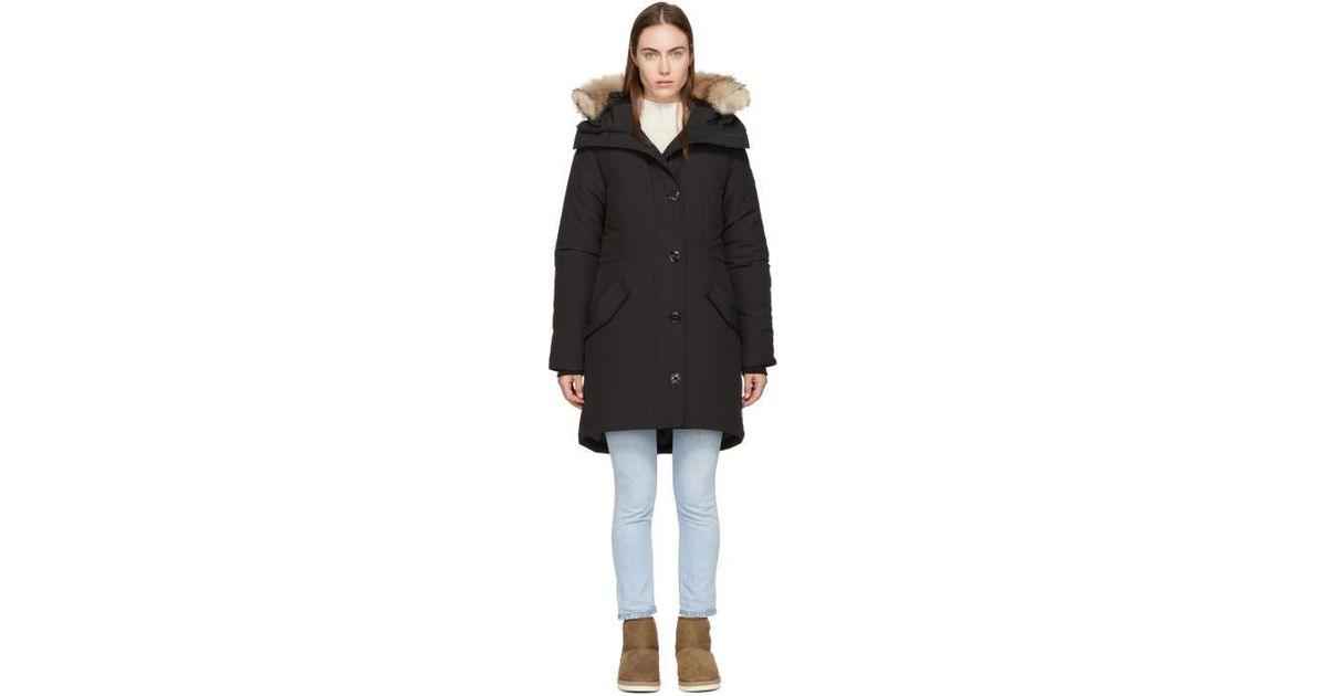 canada goose rossclair black