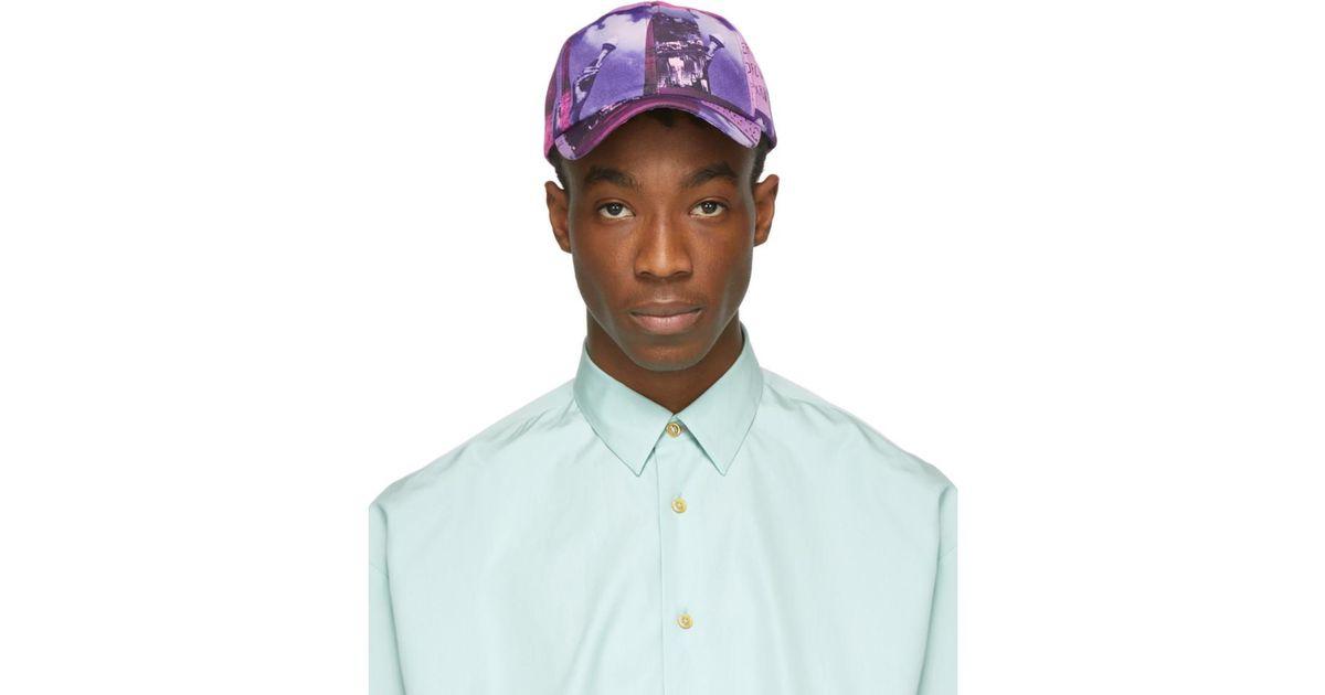Lyst - Paul Smith Ssense Exclusive Purple Pauls Photo Baseball Cap in  Purple for Men c7b96987609b