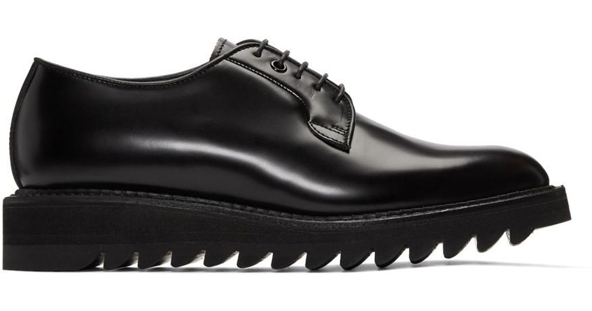 Black Shark Sole Derbys Diet Butcher Slim Skin