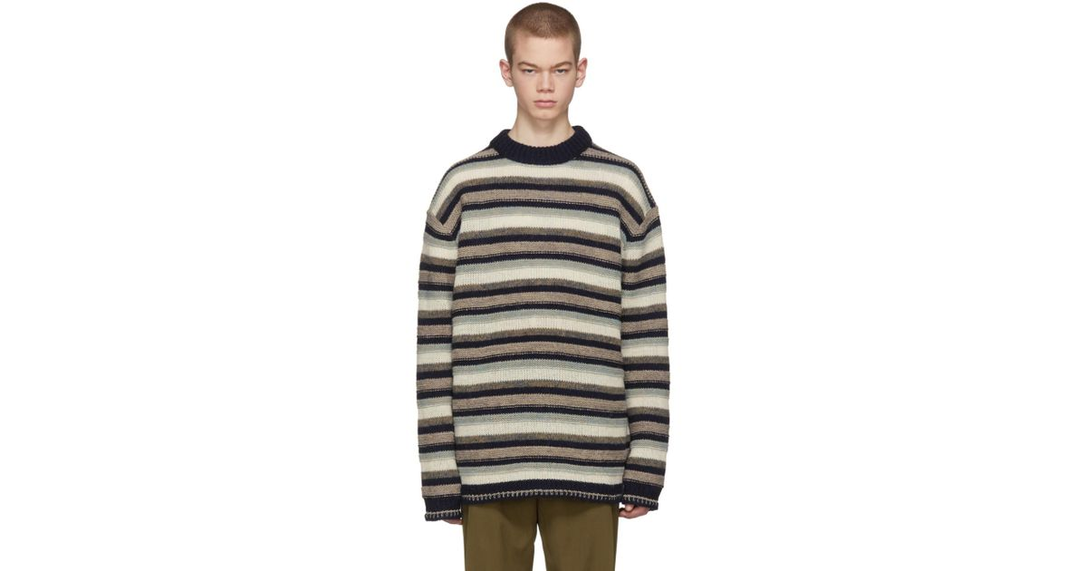 Multicolor Striped Najat Sweater Acne Studios Discount 2018 Newest oLZ0kt
