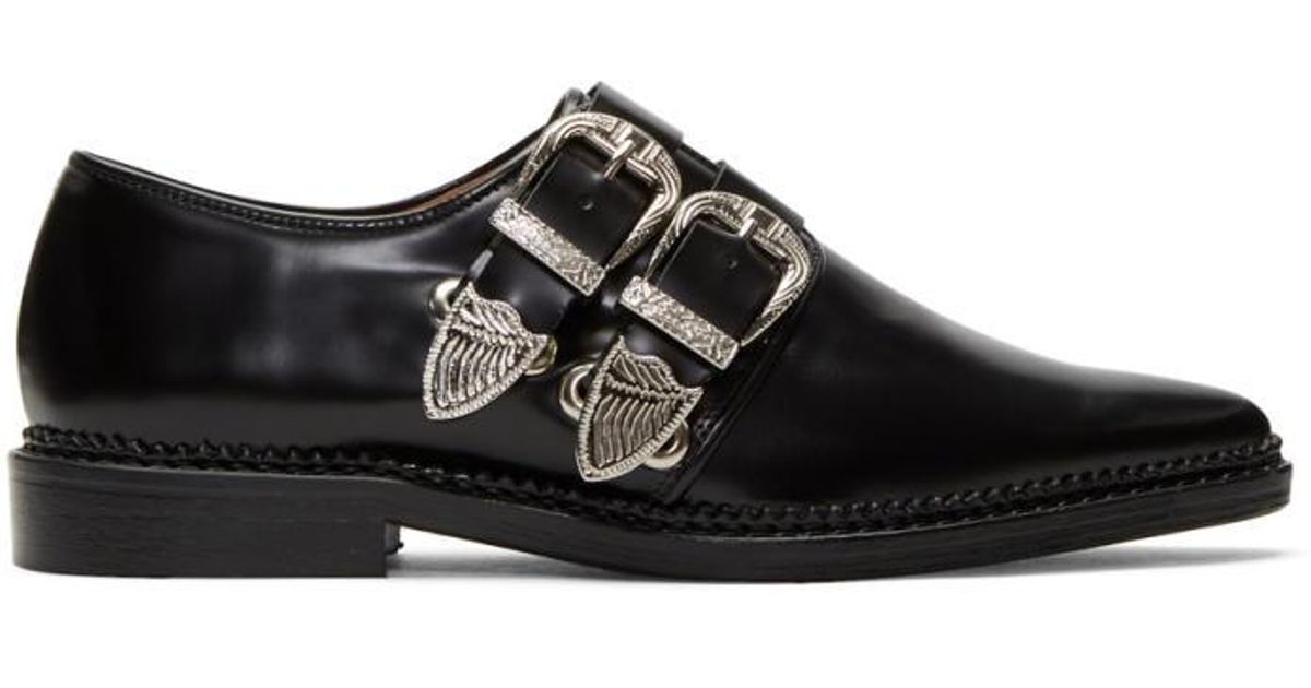 Détail De Point Toga Pulla Chaussures À Lacets - Noir iS6FuWSY