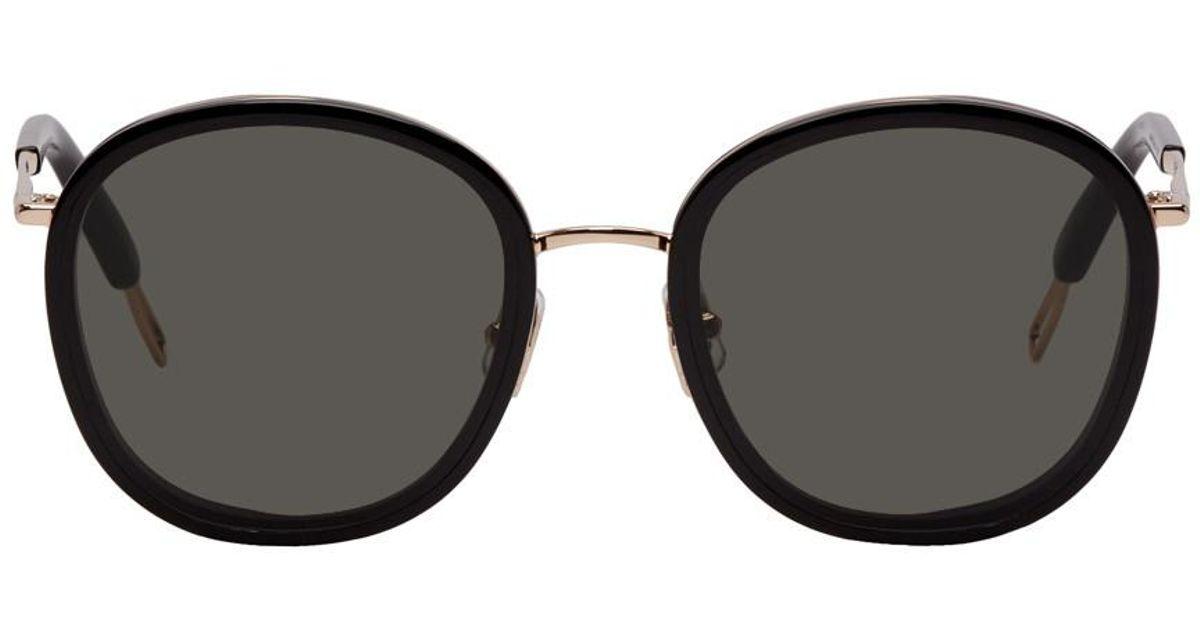 2df347ea351 Lyst - Gentle Monster Black And Rose Gold Ollie Sunglasses in Black for Men