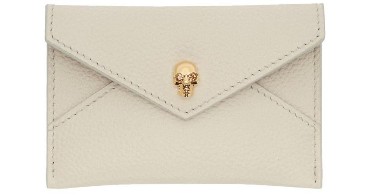 Off-White Envelope Card Holder Alexander McQueen Jz8zK7