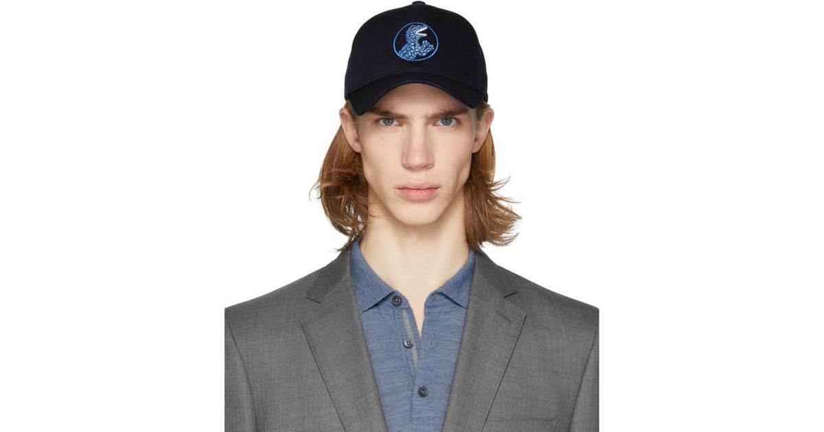 Lyst - PS by Paul Smith Navy Dino Baseball Cap in Blue for Men 97f1d3688d0f