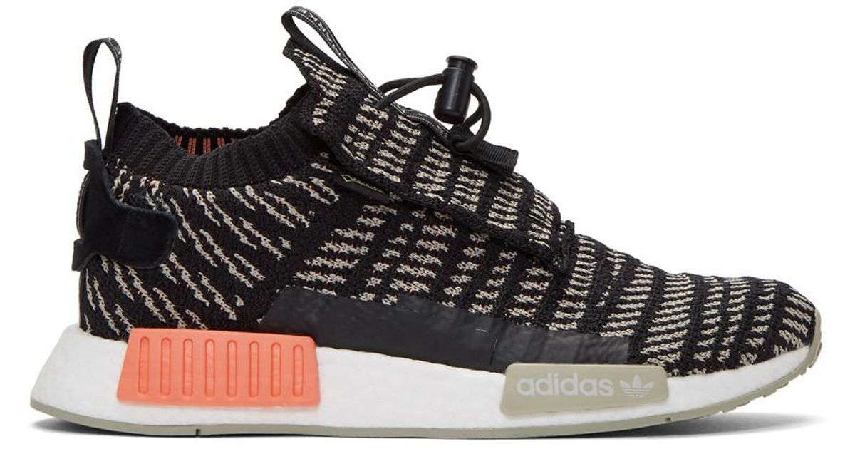 a3b548196 Lyst - adidas Originals Black And Beige Nmd-ts1 Pk Gtx Sneakers in Black for  Men