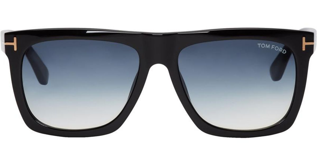 422aff0236 Lyst - Tom Ford Black Morgan Sunglasses in Blue for Men