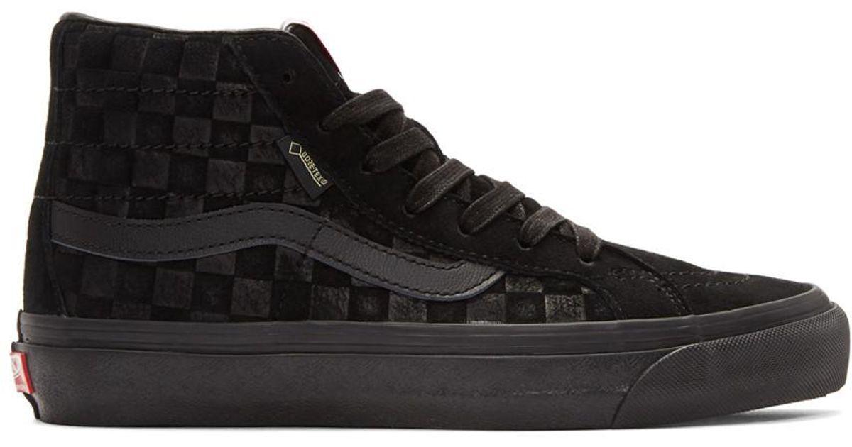 Lyst - Vans Og Sk8-hi Gtx Lx Sneaker in Black for Men - Save 33% 5a21a8544