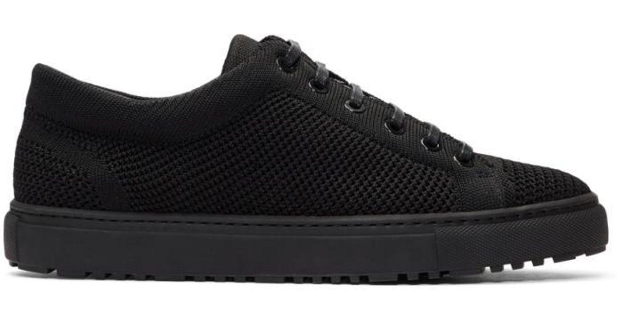 Black Knitted Low 1 Sneakers ETQ Amsterdam R4pcNRCQRa