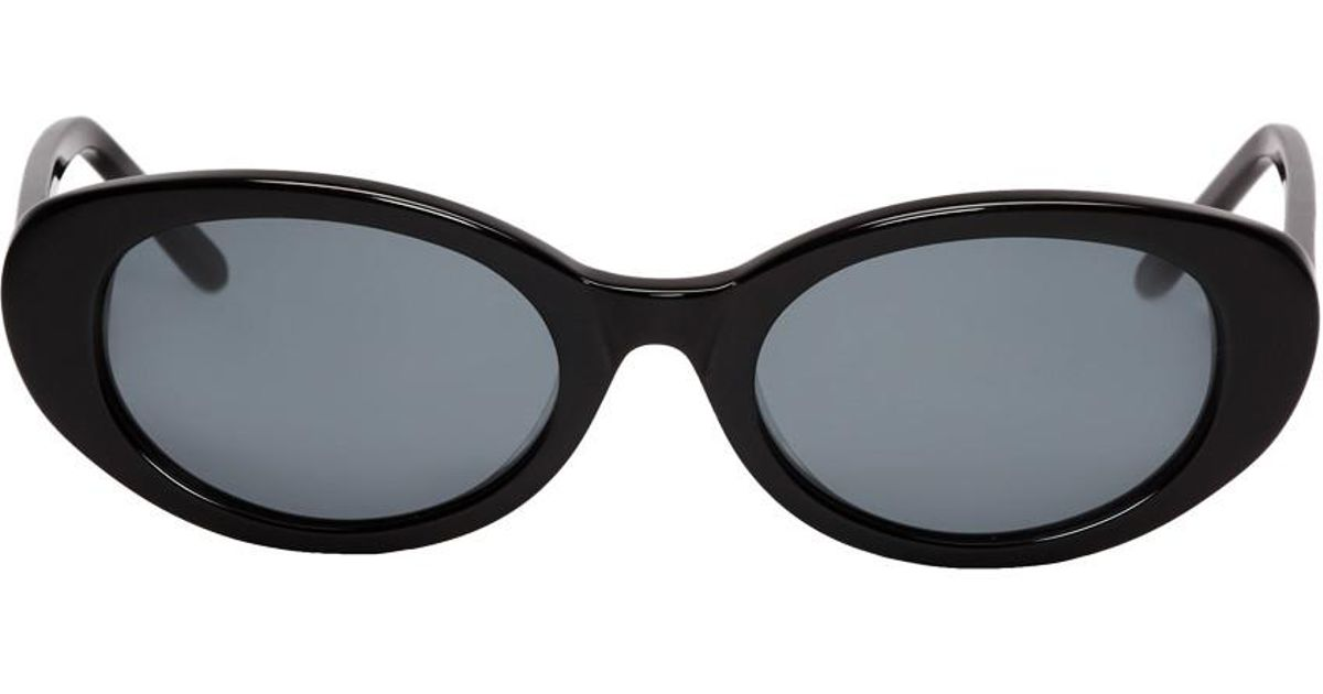 878b44bb79 Lyst - ROBERI AND FRAUD Black Betty Sunglasses in Black - Save 49%