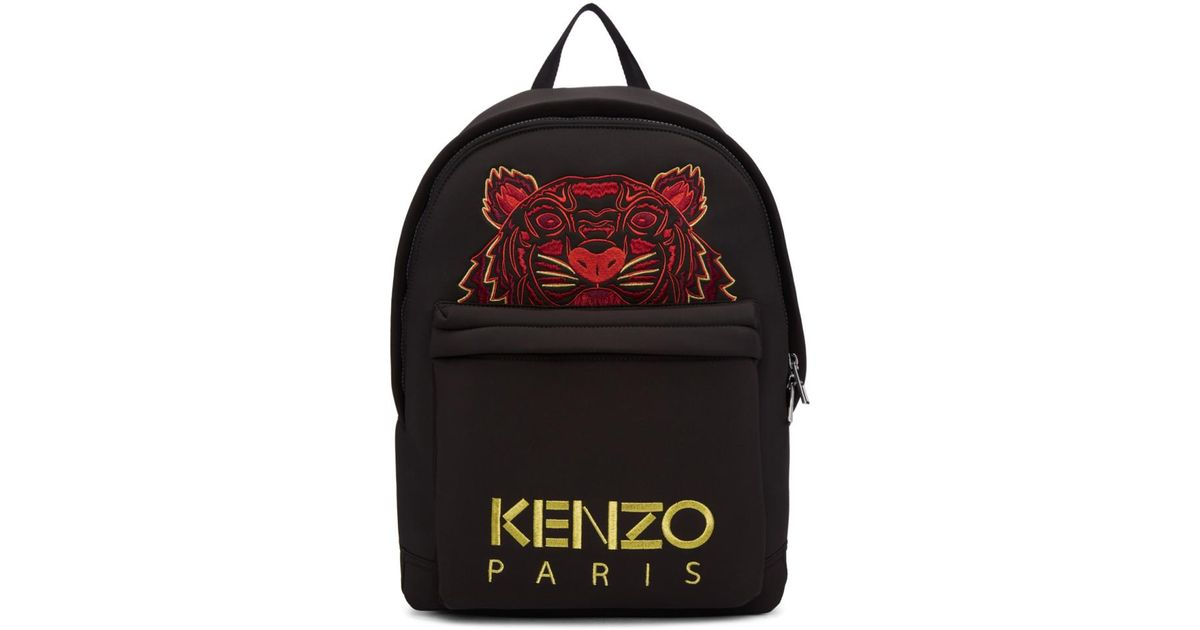 Dos New A En Year Tiger Neoprene Kenzo Pour Lyst Noir Sac Chinese QdChBxtsro