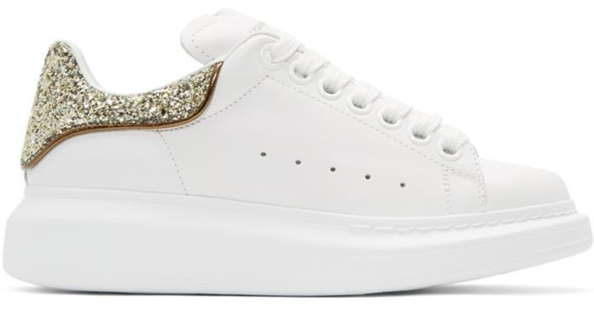 Free Shipping Classic Alexander McQueen SSENSE Exclusive & Glitter Oversized Sneakers Outlet Enjoy Wholesale Price Online ygzE6GSN