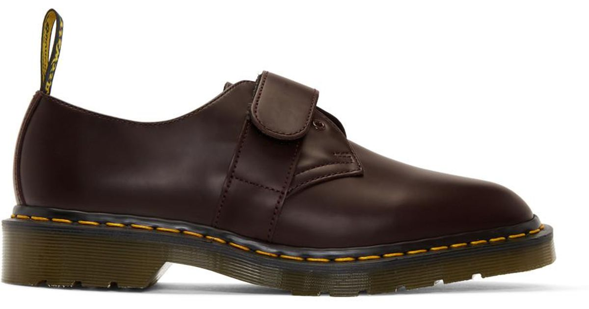 White Engineered Garments Edition 1461 Smith Derbys Dr. Martens Clearance Looking For Clearance Largest Supplier Buy Cheap Great Deals IMkbx8
