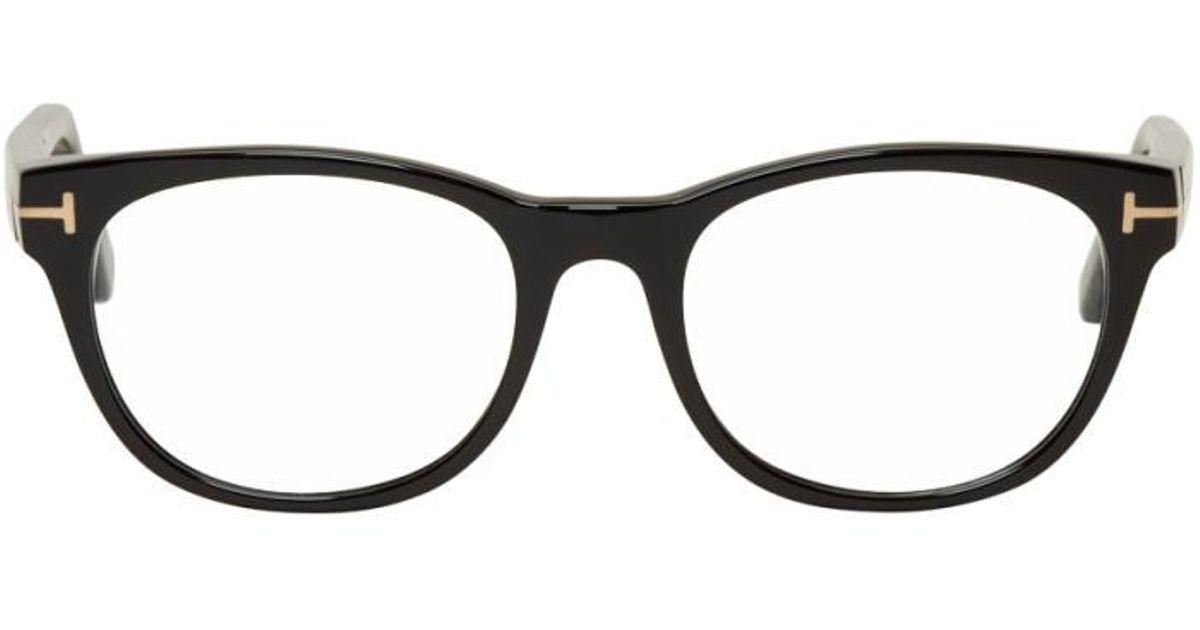 b9b1849d28 Tom Ford Black Ft5433 Glasses in Black for Men - Lyst
