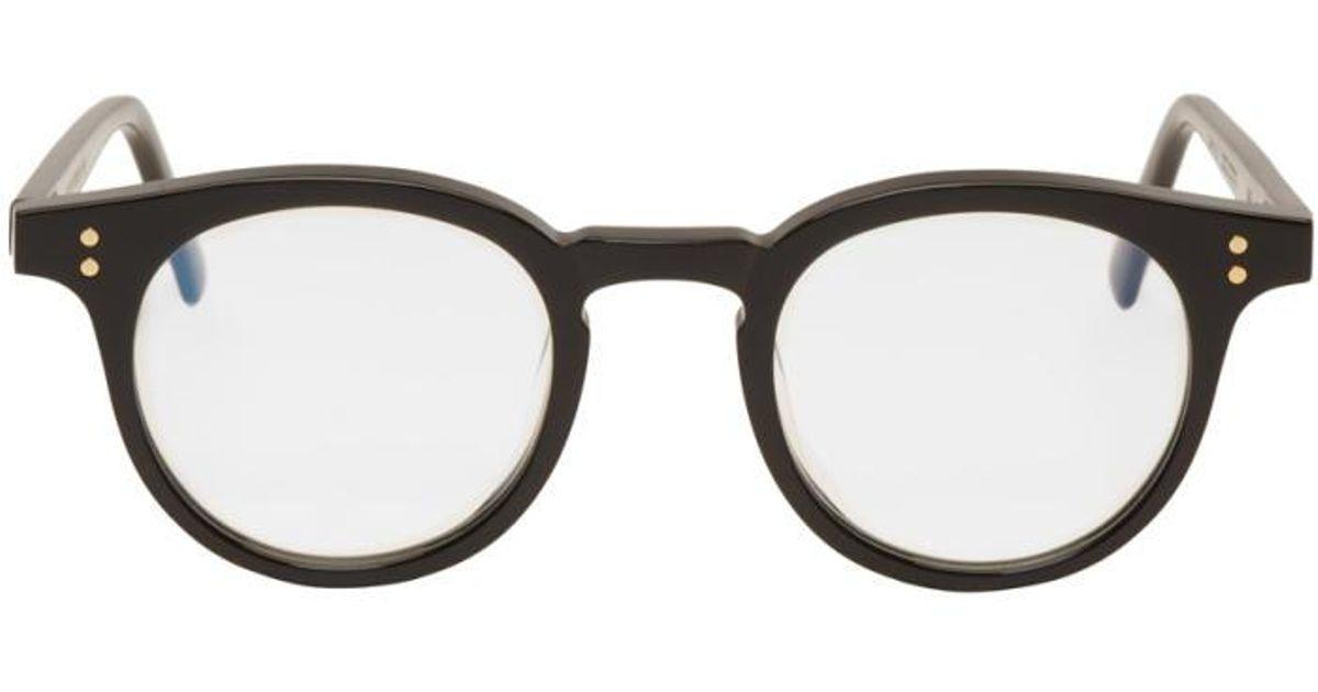 1858b5c89a8c Lyst - Gentle Monster Black Milan Glasses in Black