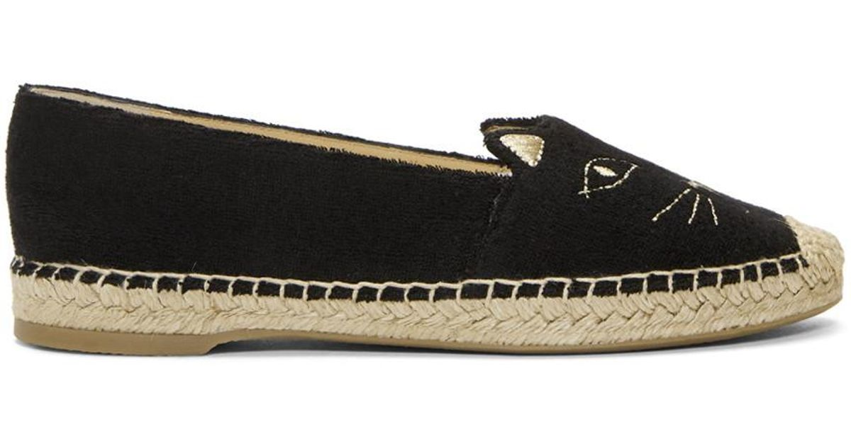 Charlotte Olympia Terrycloth Cool Cats Espadrilles VvL4s