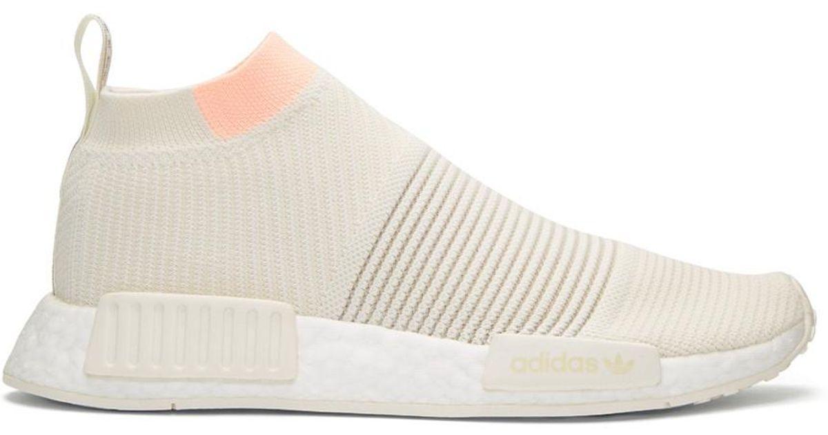 9587c707e09fe Lyst - adidas Originals Off-white Nmd Cs1 Pk Sneakers in White